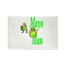 Mayo Man Rectangle Magnet (10 pack)