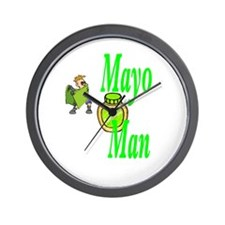 Mayo Man Wall Clock