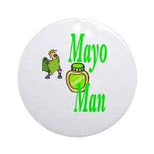 Mayo Man Ornament (Round)