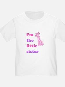 Cute Little sister giraffe T