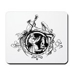 Devil Illustration Mousepad