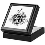 Devil Illustration Keepsake Box