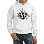 Devil Illustration Hooded Sweatshirt