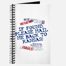 Mail Me Back To Kansas! Journal