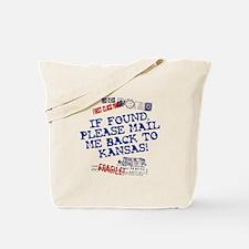 Mail Me Back To Kansas! Tote Bag