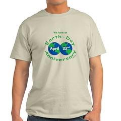 Earth Day Anniversary Light T-Shirt