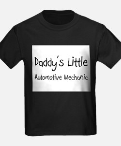 Daddy's Little Automotive Mechanic T