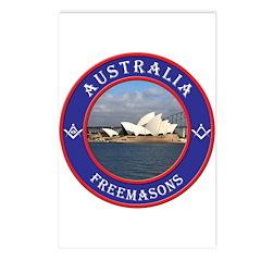 Australian Masons Postcards (Package of 8)