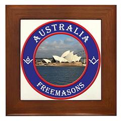 Australian Masons Framed Tile