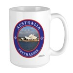 Australian Masons Large Mug