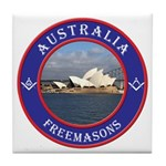 Australian Masons Tile Coaster