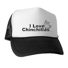 I Love Chinchillas Hat