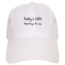Daddy's Little Attorneys At Law Baseball Cap