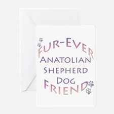 Anatolian Furever Greeting Card