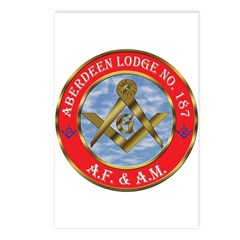 Aberdeen Lodge Postcards (Package of 8)