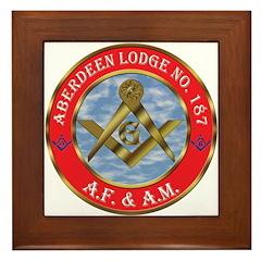 Aberdeen Lodge Framed Tile