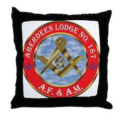 Aberdeen Lodge Throw Pillow
