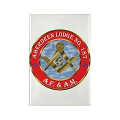 Aberdeen Lodge Rectangle Magnet (100 pack)