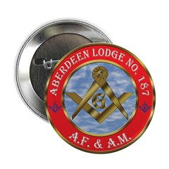 """Aberdeen Lodge 2.25"""" Button (10 pack)"""