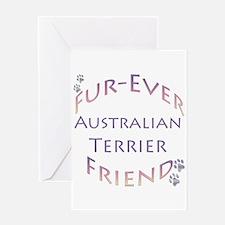 Aussie Terrier Furever Greeting Card