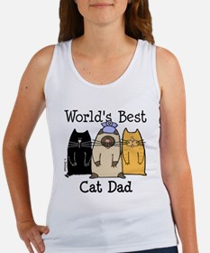 World's Best Cat Dad Women's Tank Top