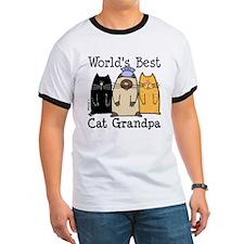 World's Best Cat Grandpa T