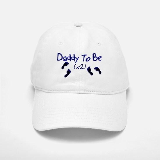 Daddy To Be (x2) Baseball Baseball Cap
