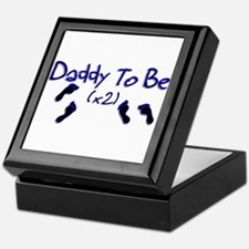 Daddy To Be (x2) Keepsake Box
