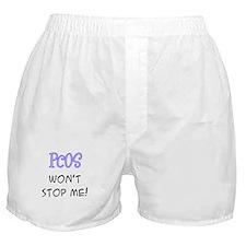 PCOS Won't Stop Me! Boxer Shorts
