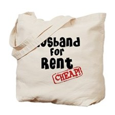 Husband For Rent Tote Bag