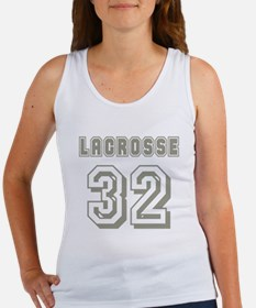 Lacrosse Player 32 Women's Tank Top