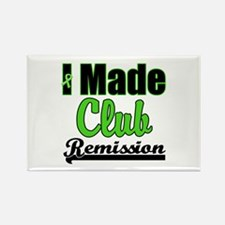Lymphoma Club Remission Rectangle Magnet