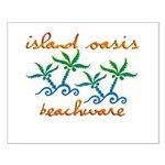 Island Oasis Small Poster