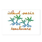 Island Oasis Postcards (Package of 8)