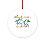 Island Oasis Ornament (Round)