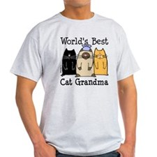 World's Best Cat Grandma T-Shirt