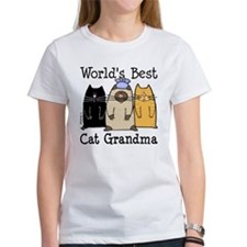 World's Best Cat Grandma Tee