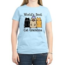 World's Best Cat Grandma T-Shirt