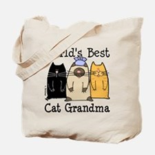 World's Best Cat Grandma Tote Bag