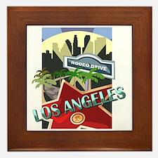 Rodeo Drive LA Framed Tile