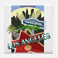 Rodeo Drive LA Tile Coaster