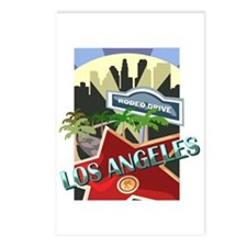 Rodeo Drive LA Postcards (Package of 8)