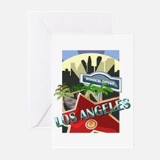 Rodeo Drive LA Greeting Cards (Pk of 10)