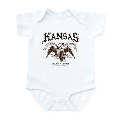 Kansas - Eagle Crest 2 Infant Bodysuit