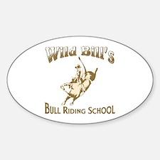 Wild Bill's Oval Decal