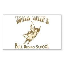 Wild Bill's Rectangle Decal