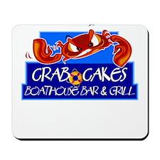 Crab Cakes Boathouse Mousepad