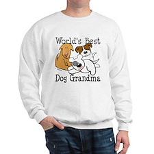 World's Best Dog Gramma Sweatshirt