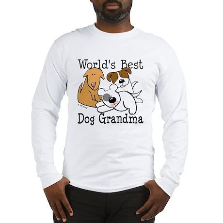 World's Best Dog Gramma Long Sleeve T-Shirt