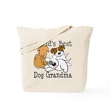 World's Best Dog Gramma Tote Bag